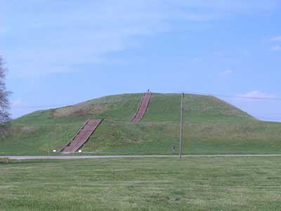 pyramid at cahokia